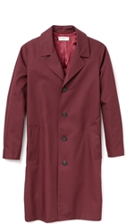 Melindagloss Overcoat Burgundy