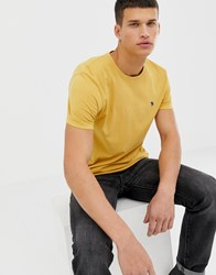 Abercrombie And Fitch Icon Logo T Shirt In Yellow