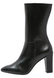 Gardenia Ann High Heeled Boots Black