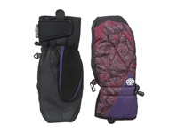 686 Deco Mitt Wine Paisley Extreme Cold Weather Gloves Pink