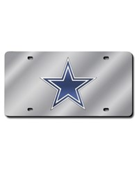Rico Industries Dallas Cowboys License Plate Silver