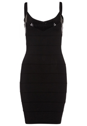 Morgan Rayet Cocktail Dress Party Dress Noir Black