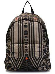 Givenchy Pattern Print Backpack Green