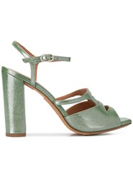 Chie Mihara Esther Sandals Green