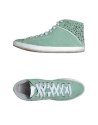 Khrio' High Top Sneakers Light Green