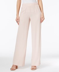 Inc International Concepts Crepe Wide Leg Pants Only At Macy's Shy Blush