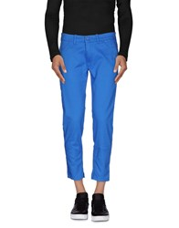 Paolo Pecora Denim Denim Capris Men Bright Blue