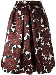 Eggs 'Rosen' Skirt Brown
