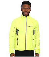 Louis Garneau Cabriolet Cycling Jacket Bright Yellow Workout