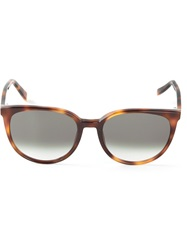 Celine 'Thin Mary' Sunglasses Brown
