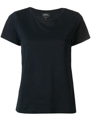 A.P.C. Regular T Shirt Blue