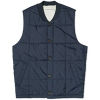 Universal Works Quilt Gilet Navy