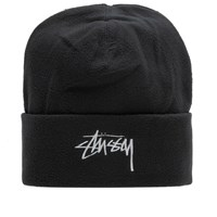 Stussy Polar Fleece Beanie Black
