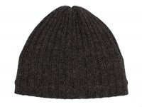 Dents Mens Knitted Hat Charcoal