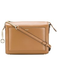 Donna Karan Briant Crossbody Bag Brown