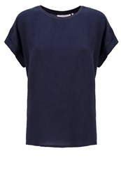 Karen By Simonsen Jean Basic Tshirt Outer Space Dark Blue