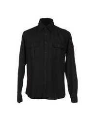 Gas Jeans Gas Long Sleeve Shirts Black
