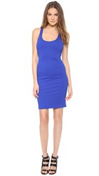 5Th And Mercer Racer Back Dress Electric Blue