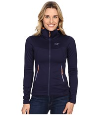 Arc'teryx Arenite Hoodie Marianas Women's Sweatshirt Blue