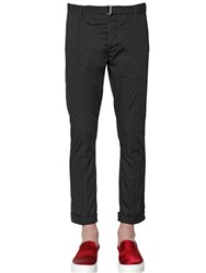 Christian Pellizzari 18Cm Stretch Cotton Gabardine Pants