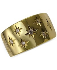 Marchesa Diamond Star Band 1 6 Ct. T.W. In 18K White Or Yellow Gold