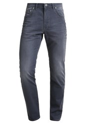 Bugatti Madrid Straight Leg Jeans Grey