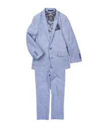 Appaman Boys' Mod Two Piece Suit Blue