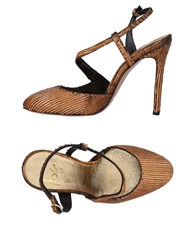Icone Pumps Brown