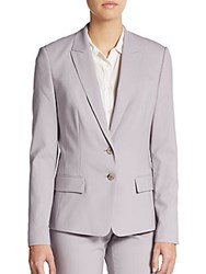 Hugo Boss Jaelle 4 Pinstripe Jacket Dusty Mauve