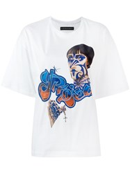 Y Project Printed T Shirt White