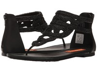 Rocket Dog Henley Black Smooth Beading Women's Sandals