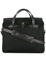 Filson Rectangular Holdall Bag Black