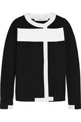 Givenchy Wool Blend Cardigan With White Trim