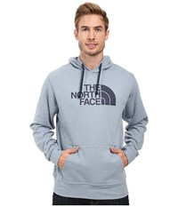 The North Face Half Dome Hoodie Worn Blue Cosmic Blue Men's Long Sleeve Pullover