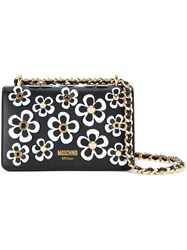 Moschino Floral Bag Black