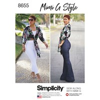 Simplicity Mimi G Style 'S Trousers And Blouse Sewing Pattern 8655