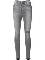Current Elliott Fade Out Skinny Jeans Black