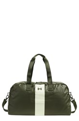 Under Armour 'The Bag' Stripe Duffel Bag Green Downtown Green
