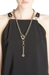 Women's Lanvin Cuff Pendant Necklace Belt