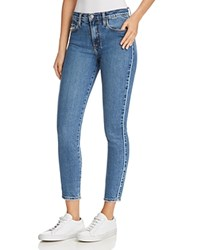 Nobody Cult Comfort Ankle Skinny Jeans In Blue Line 100 Exclusive