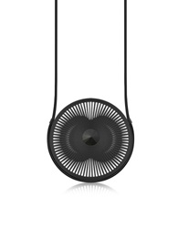 Vojd Studios Phase Black Statement Round Pendant