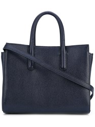 Max Mara Top Handles Tote Women Calf Leather Cotton One Size Black