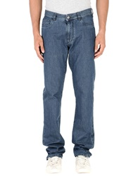Canali Denim Pants Blue