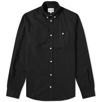 Norse Projects Anton Oxford Shirt Black