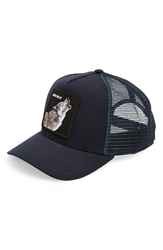 Goorin Bros. 'Animal Farm Wolf' Trucker Cap Navy