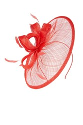Coast Amedee Fascinator Red
