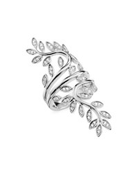 Thomas Sabo Tendrils Small Sterling Silver Swirl Ring