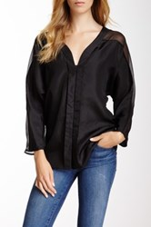 Kas Clarke Silk Blouse Black