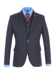 Gibson Men's Navy Spot Jaquard Jacket Navy
