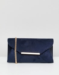Coast Fold Clutch Bag Navy
